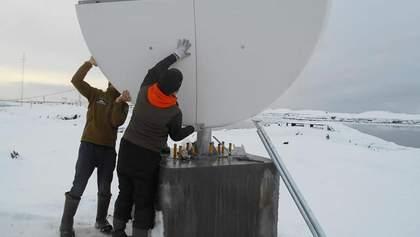 Антарктида стає ближчою: в українських полярників з'явився безлімітний інтернет