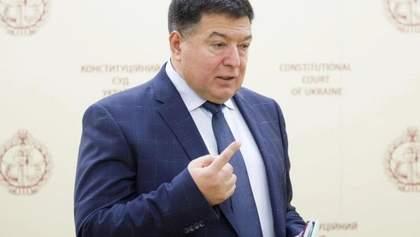 Тупицького не пустили в КСУ на спецзасідання, яке він скликав