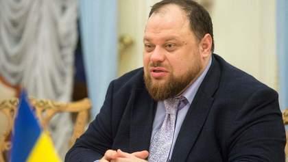 Стефанчук призвал наказывать нардепов за нарушение масочного режима в Раде