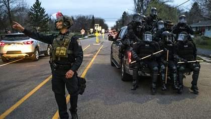 Массовые беспорядки и протесты: в Миннеаполис ввели Нацгвардию после убийства афроамериканца
