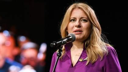 """Президентка Словаччини підтримала вчених, які викрили Росію в продажу іншого """"Супутника-V"""""""