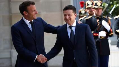 Зеленський зустрінеться з Макроном у Парижі 16 квітня, – ЗМІ