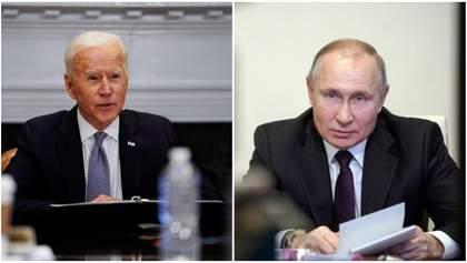 Байден поговорив телефоном з Путіним про Донбас