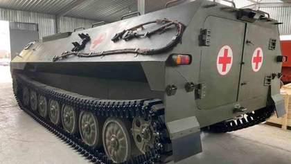 Українці представили нові медичні бронеавтомобілі: фото