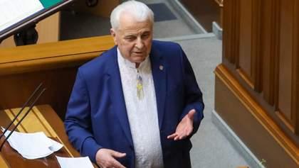 Кравчук предлагает ТКГ усилить перемирие на Донбассе: Россия до сих пор не отреагировала