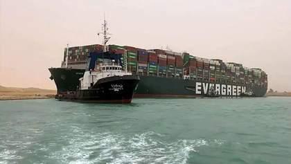 Суд арестовал контейнеровоз Ever Given, пока владелец не выплатит компенсацию