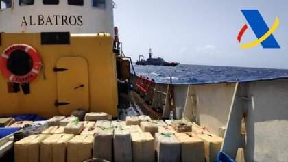 В Испании задержали украинских моряков: на их судне обнаружили 18 тонн наркотиков