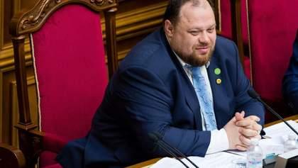 Стефанчук призвал МВД штрафовать нардепов, которые не носят масок в Раде