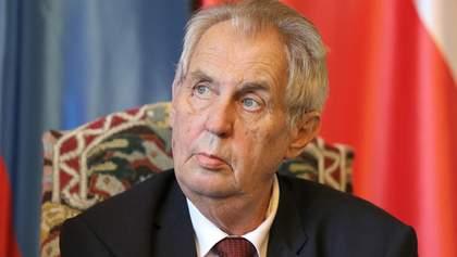 Сначала результаты расследования, тогда – выводы, – президент Чехии о взрывах во Врбетице