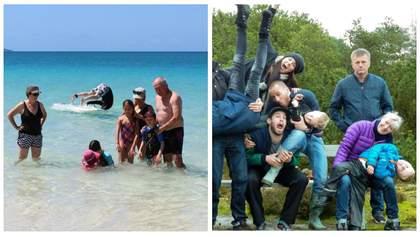 """""""Ідеальні"""" родинні спогади: курйозні світлини з відпочинку, від яких складно втримати сміх"""