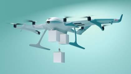 Німці показали дрон, який може перевозити відразу 3 посилки: кадри вражають
