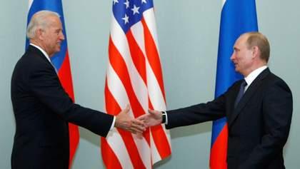 Байден планує обговорити з Путіним Україну