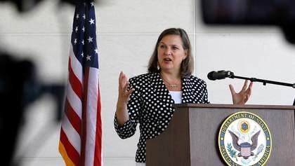 Сенат США единогласно утвердил Викторию Нуланд заместителем госсекретаря
