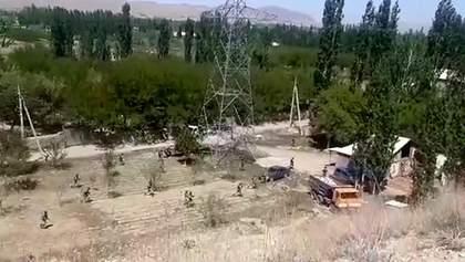 На границе Кыргызстана и Таджикистана возобновилась перестрелка