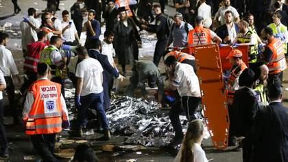 В Израиле объявили национальный траур в связи с трагедией на горе Мерон