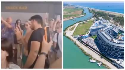 5-зірковий готель у Туреччині закрили через гучну вечірку за участю українців