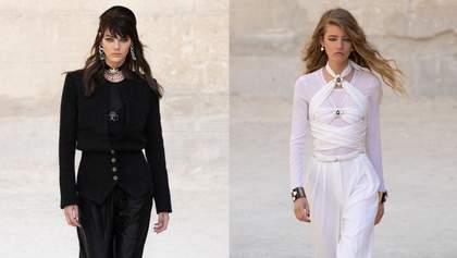 Ода чорному та білому кольору: нова колекція Chanel Resort 2022