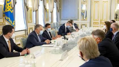 Це треба бачити на власні очі, – Зеленський поговорив про Донбас з главами МЗС з Бенілюксу