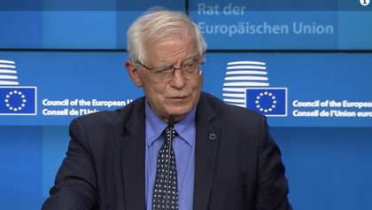 Евросоюз не хочет наращивать напряжение с Россией, – Боррель