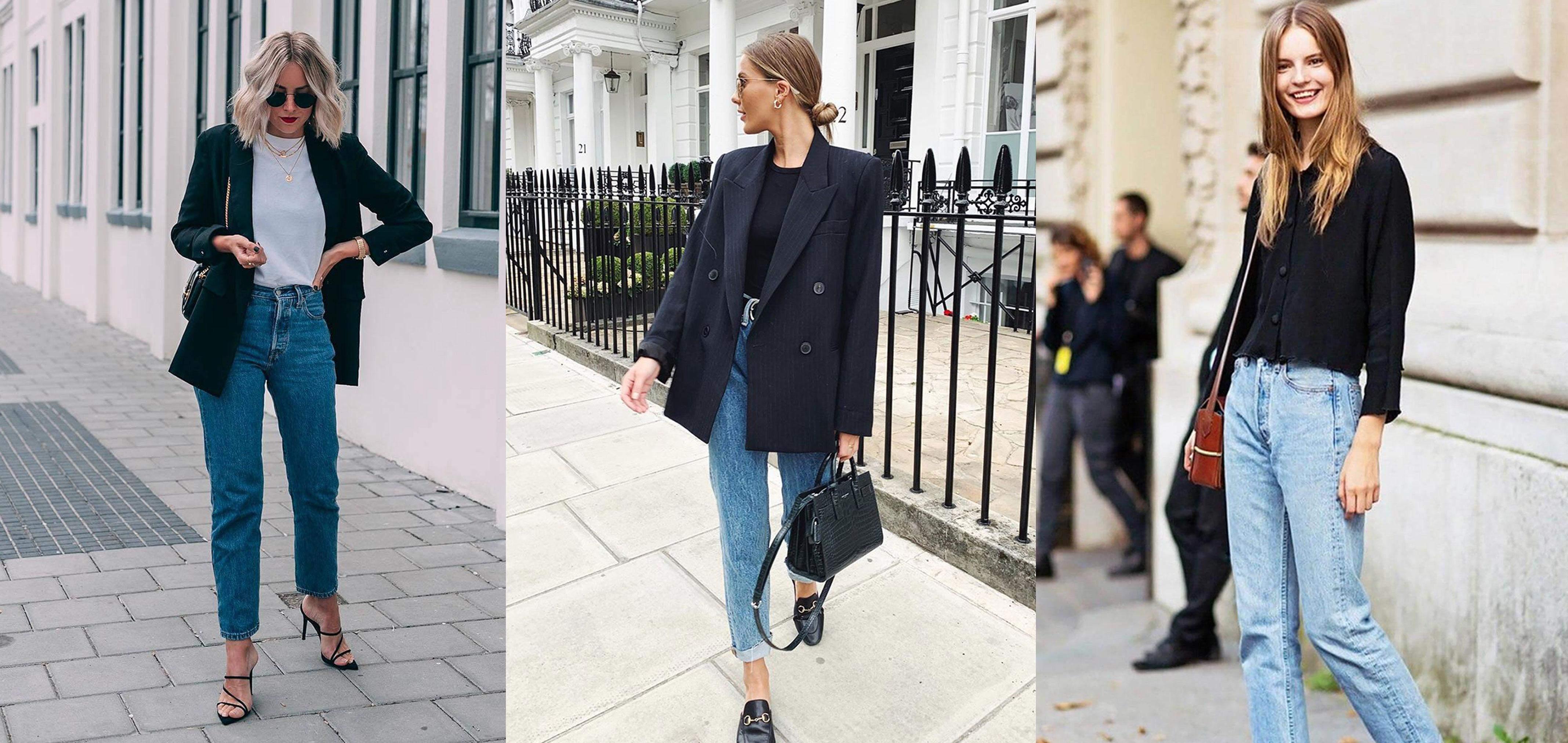 Модні прийоми з mom-джинсами