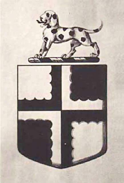 Герб з далматинцем