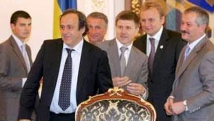 Мішель Платіні прибув до Львова