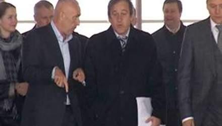 Платіні залишився задоволений підготовкою Харкова до Євро-2012