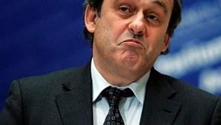 Платіні каже про помилковість Євро-2012 в Україні?