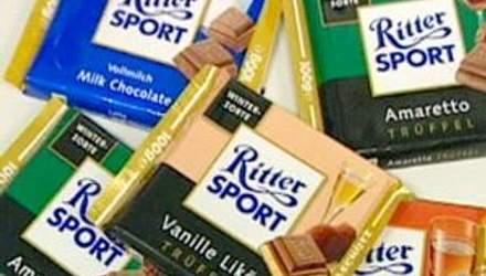 Успех шоколада Ritter Sport заключается в квадратных формах плиток