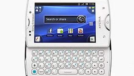 Sony Ericsson оновила Xperia mini