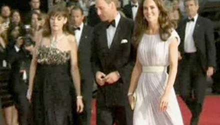Принц Уильям с женой Кэтрин посетили BAFTA Brits To Watch