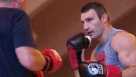 Віталій Кличко вчора провів останнє тренування до бою з Адамеком