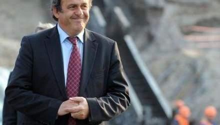 Платини приедет проверить готовность Украины к Евро-2012