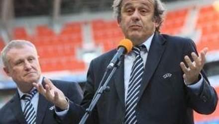 Платіні про Євро-2012: Я з перших днів говорив, що для Польщі та України це буде велике завдання