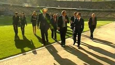 """Платини говорит """"Браво"""" Украина за подготовку к Евро-2012"""