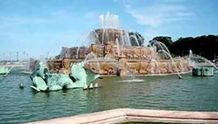Букингемский фонтан - символ озера Мичиган