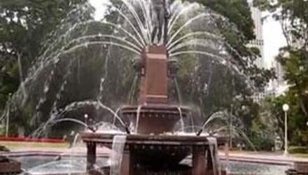 Фонтан Арчибальда - грандиозный водопад с мифологическими фигурами