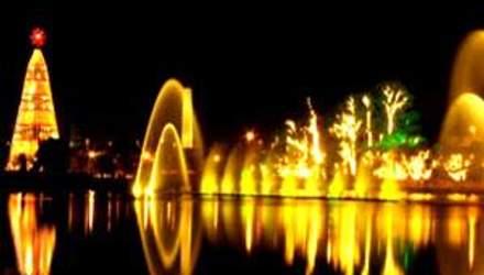 Fonte do Іbirapuera – фонтан розташований просто посеред озера
