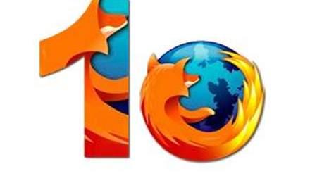 """Firefox обновился до стабильной """"десятки"""""""