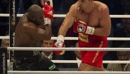 Кличко уложил Мормека в 4 раунде