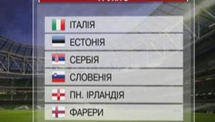 Група С: Збірна Італії