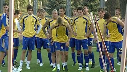 Група D: Збірна України
