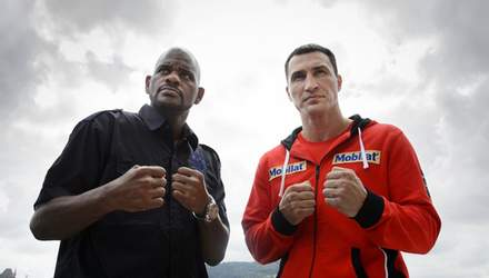 Сегодня Кличко будет драться с Тони Томпсоном