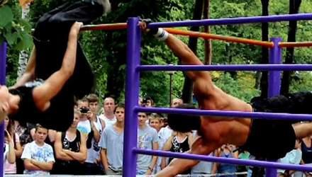 В Виннице прошел всеукраинский турнир по street workout