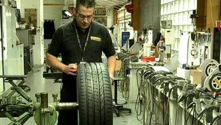Шини Cyber Tyre самі повідомлятимуть про зношеність