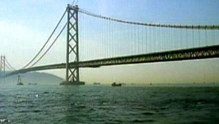 Акасі Кайко - найвищий, найдовший, найдорожчий підвісний міст на Землі