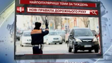 """Користувачів """"Яндекс"""" зацікавили нові правила дорожнього руху в Україні"""
