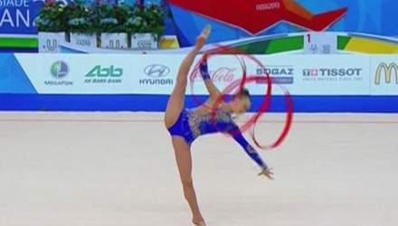 """Універсіада: Українка завоювала """"бронзу"""" з художньої гімнастики"""