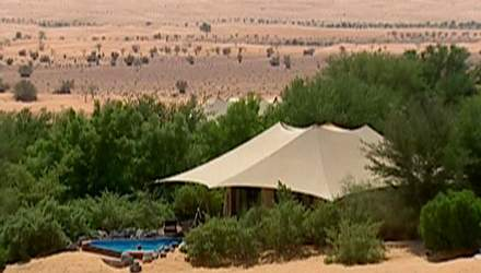Отель Al Maha Desert Resort - пустынный курорт