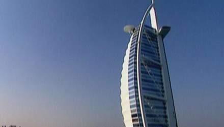 Burj Al Arab - скляний готель на приватному острові